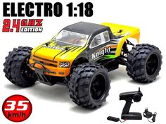 HSP Hunter Truggy 4WD 1/16 2.4 Ghz RTR Green-11994