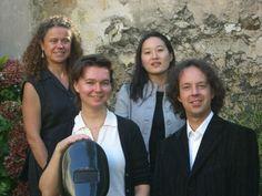 Concert du quatuor Antarès le 4 juillet 2015 à l'église St-Vincent de Paul à Paris.