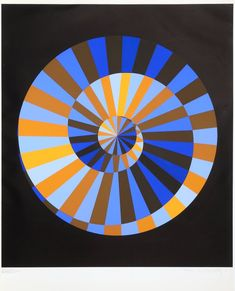 View Emblème des Jeux Olympiques By Victor Vasarely; Access more artwork lots and estimated & realized auction prices on MutualArt. Victor Vasarely, Illusion Kunst, Illusion Art, Op Art, Städel Museum, Art Series, Art Moderne, Creative Logo, French Artists