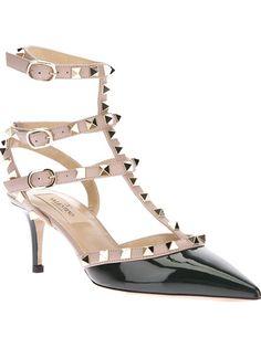 Perennial favourite VALENTINO GARAVANI Strapped Heeled Sandal