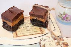 Uhyggelig lækker kage, som skal skæres i små stykker, for at det ikke bliver for sødt. Men en rigtig lækkerbidsken for én med en sød tand. Kagen blev egentlig lavet, fordi jeg havde en 1 dåse karam…