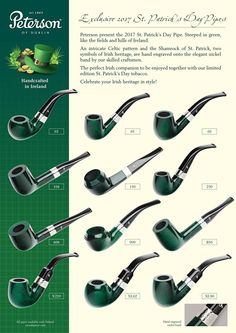 2017 Peterson St Patrick's Day Pipes