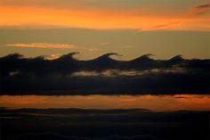 Kelvin Helmholtz Clouds
