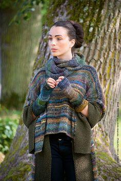 Knitting Daily, Knitting Kits, Knitting Yarn, Hand Crochet, Knit Crochet, Fair Isle Knitting Patterns, Crochet Basket Pattern, Casual Tops For Women, Casual Sweaters