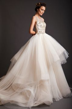 Mis Queridas Fashionistas: Evening Dresses: Krikor Jabotian Akhtamar Collection Spring/Summer 2014