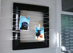 Cute picture frame ideas!:)