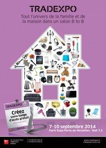 Tradexpo, le salon des professionnels de l'univers de la maison, de la famille et du jardin http://www.batilogis.fr/agenda/salon-france-2014-1.html