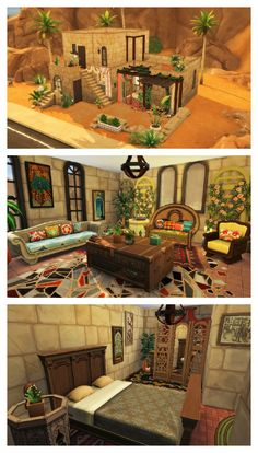 THE SIMS 4 SPEED BUILD | Arabian House