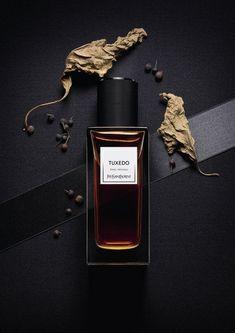 Tuxedo Yves Saint Laurent perfume - a new fragrance for women and men 2015 Beauty Photography, Still Life Photography, Product Photography, Ysl Beauty, Beauty Shots, Parfum Yves Saint Laurent, Best Perfume, New Fragrances, Design Set