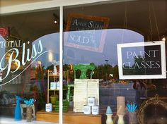 Something to do in the front windows?  (chalkboards)