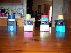 A Pretty Talent Blog: School HolidayProject 10 - Making Box Men