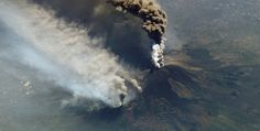 Etna erupted again. Air traffic disrupted!!!