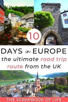 Best European Road Trips, Road Trip Europe, Perfect Road Trip, Road Trip Hacks, Medieval Town, Where To Go, Travel Guides, Travel Inspiration, Travel Destinations