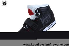 Buy 2013 New 2013 Nike Air Yeezy II Men Shoes Black White Red Sports Shoes Shop