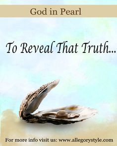 To reveal the truth #godinpearl