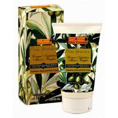 """Crema mani e unghie a base di olio extravergine di oliva """"Toscano IGP"""" Biologico:"""