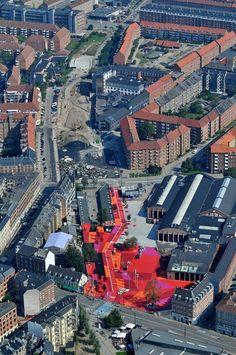 Superkilen, Copenhagen. Collaboration between BIG Bjarke Ingels Group, Superflex and Topotek1. #allgoodthings #danish spotted by @missdesignsays