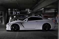Matte White GTR wow i'm in love:):) i would love to drive this car
