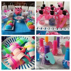 Spa Birthday Party Ideas | Photo 1 of 28 | Catch My Party
