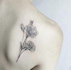 Carnations tattoo