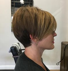 Pixie with Long Layered Bangs