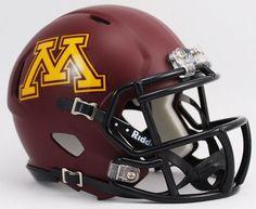 Minnesota Golden Gophers NCAA Mini Speed Football Helmet