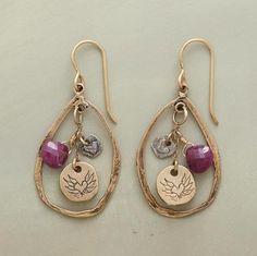 heart earring, free heart, frames, roses, yellow, alchemy, jewelri, handmade jewelry, earrings