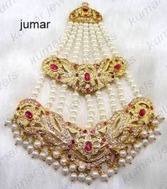 why titanium jewelry can be a better choice than jewelry made in traditional precious metals like gold, silver and platinum. Pakistani Jewelry, Bollywood Jewelry, Indian Wedding Jewelry, Bridal Jewelry, Indian Weddings, Hyderabadi Jewelry, Headpiece Jewelry, Hair Jewellery, Gold Jewellery
