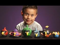 Awesome Angry Birds Space Clay Molds!