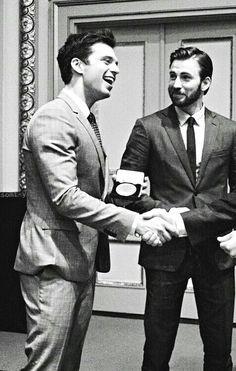 Sebastian and Chris at the New York Stock Exchange