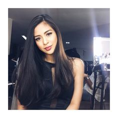 Gabbi Garcia the half of Gabru Latest Hairstyles, Cool Hairstyles, Gabbi Garcia, Filipina Beauty, Hair Flow, Asian Hair, Hair Care Tips, Tumblr Girls, Pretty Face