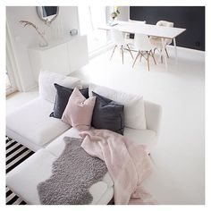 Home Decoration For Living Room Product My Living Room, Living Room Interior, Apartment Living, Home And Living, Living Room Decor, Living Spaces, Ikea Interior, Kitchen Living, Living Area