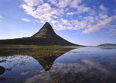 Montaña Kirkjufell, Islandia