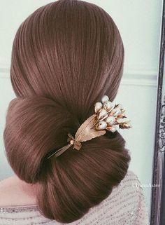 Coiffure De Mariage : Featured Hairstyle: Ulyana Aster; www.ulyanaaster.com; instagram.com/ulyana.aste...