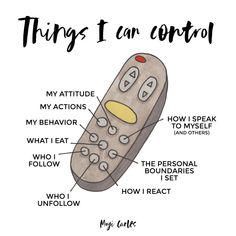 Focus on what you can control to reduce stress. Focus on these examples. Mental And Emotional Health, Mental Health Awareness, Vie Motivation, Positive Self Affirmations, Positive Mindset, Positive Quotes, Self Care Activities, Wellness Activities, Therapy Activities