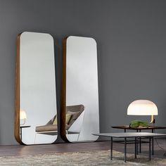 Wall-mounted mirror OBEL By Bonaldo design Roberto Paoli Metal Mirror, Wall Mounted Mirror, Wall Mirror, Deco Furniture, Furniture Design, Spiegel Design, Interior Decorating, Interior Design, Home Accessories