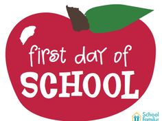 First Day Of School Mini Poster For Elementary School Kids!