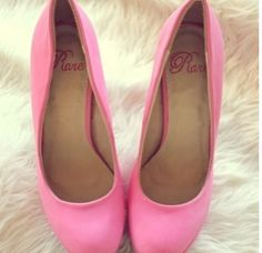 Candy Pink Heels