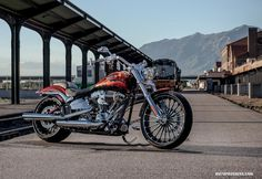 Harley Davidson 2014 : CVO Breakout