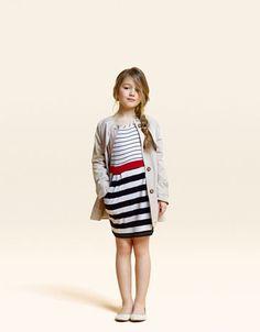 Adorable Stripes: Zara Kids Spring 2011 Lookbook
