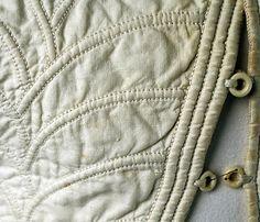 Corset Date: 1810s–20s Culture: American Medium: cotton