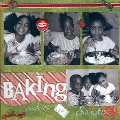 Baking Cookies - Scrapjazz.com