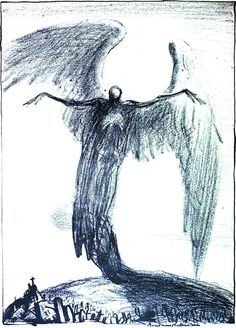 An illustration from a 1916 issue of Puck magazine. Fairy Drawings, Dark Art Drawings, Cute Drawings, Dark Art Illustrations, Illustration Art, Goth Art, Art Portfolio, New Wall, Art Inspo