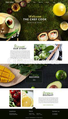 Website Design Inspiration, Website Design Layout, Web Layout, Layout Design, Layout Inspiration, Bakery Website, Food Website, Well Designed Websites, Food Web Design