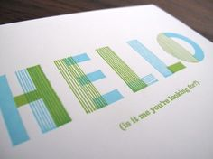 i love to collect greeting cards. especially when they have fun type and remind me of good ol' lionel.