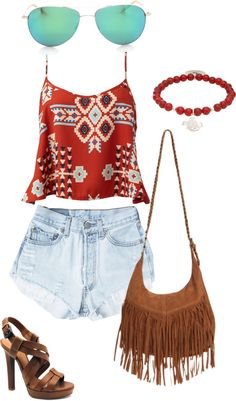 """Summer festival"" by emmi-pus on Polyvore"