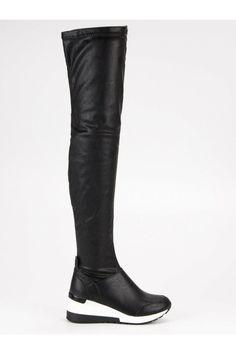 Športové kozačky čižmy na klinovom opätku SDS Riding Boots, Knee Boots, Platform, Shoes, Fashion, Wedge, Zapatos, Moda, Shoes Outlet