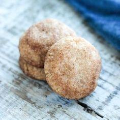 Crispy on the outside, tender on the inside, these low carb snickerdoodles are everything you love about a keto friendly cookie! Easy to make & gluten free!