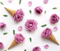 I don't like ice cream but I love creative pictures of ice cream roses. It's all about the aesthetics girl ;) #contentmarketing
