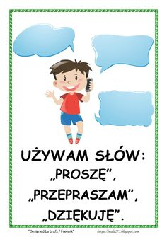BLOG EDUKACYJNY DLA DZIECI Polish Words, Polish Language, Teacher Inspiration, Paper Ornaments, Back To School, Kindergarten, Crafts For Kids, Preschool, Family Guy